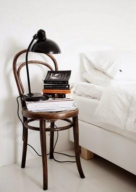Shake the deco - Table de nuit DIY Chaise