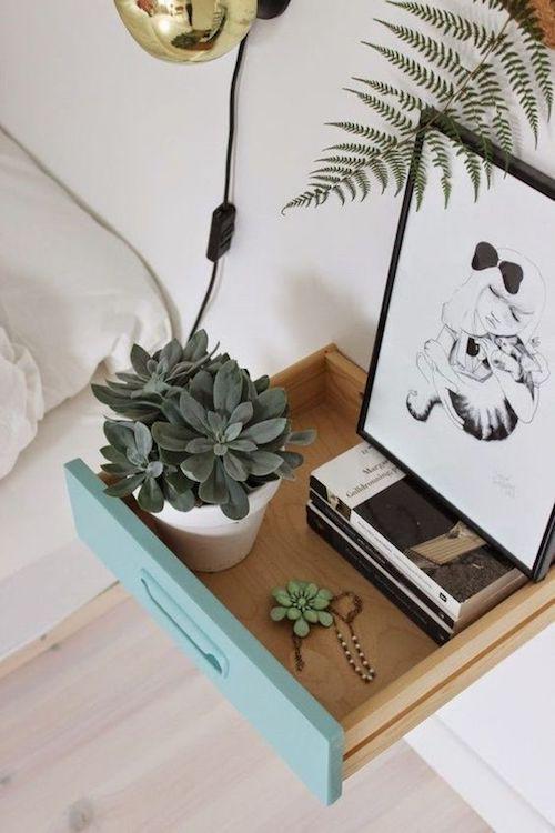 Shake the deco - Table de nuit DIY tiroir