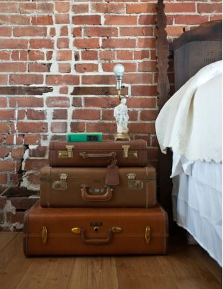 Shake the deco - Table de nuit DIY valise