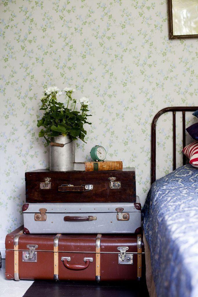 Shake the deco - Table de nuit DIY valise