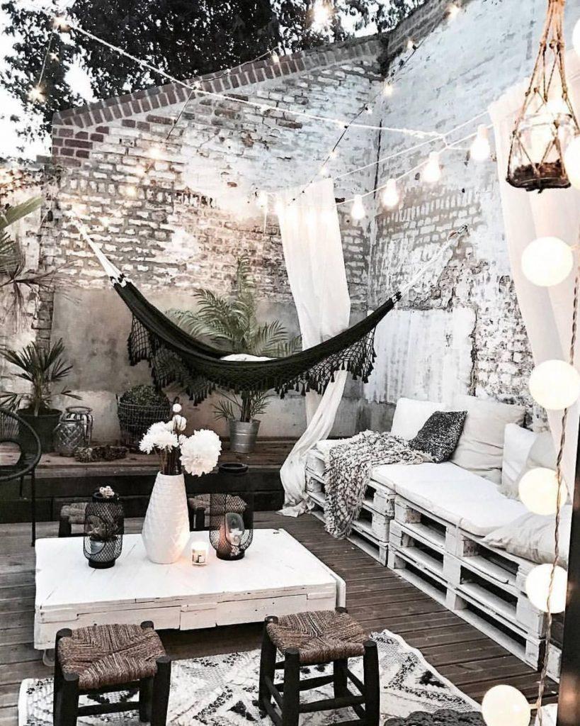 Shake the deco - déco terrasse noir et blanc