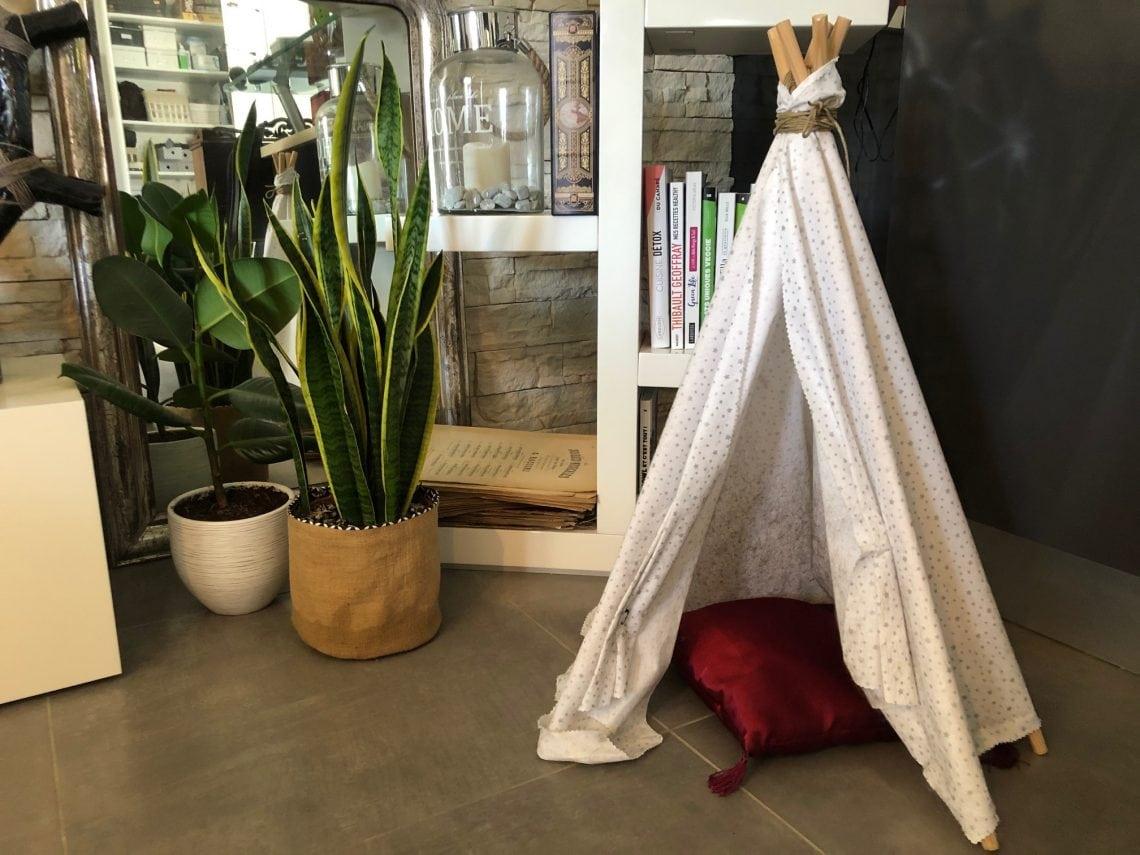 Shake the Deco - DIY tuto Tipi chats