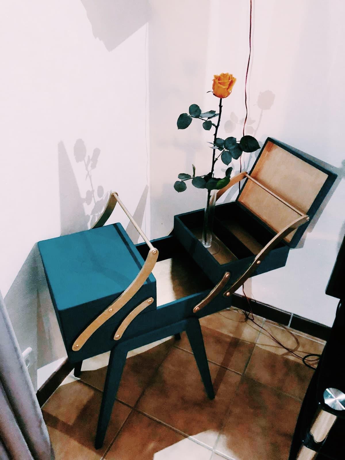 DIY #2 – Une travailleuse de couturière relookée version 2.0