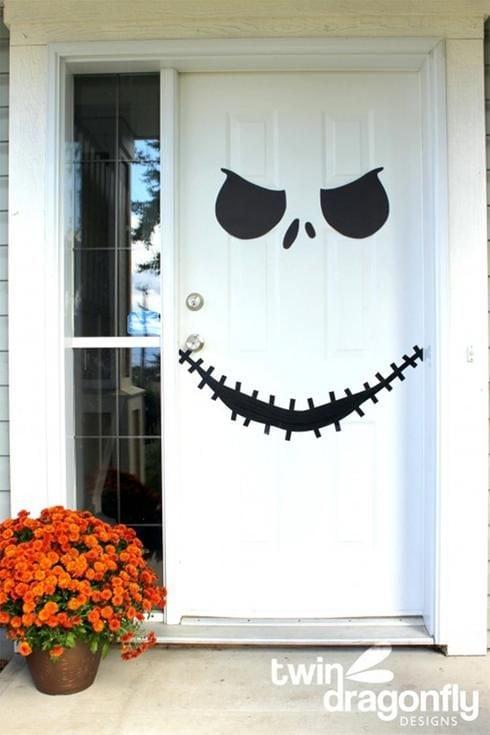 Shake the déco - Halloween diy - porte