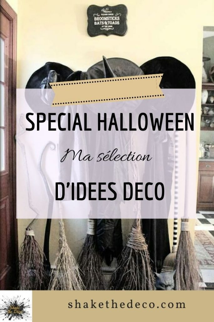 Shake the deco - idées déco pour halloween