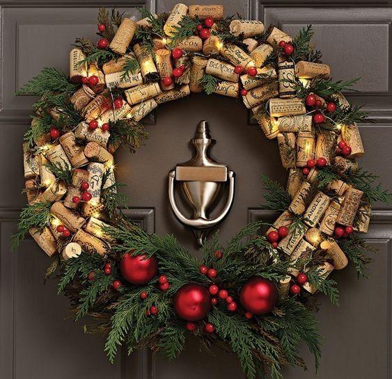 DIY Noël couronne