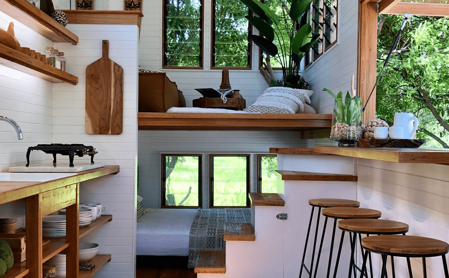 Tiny house, mini studio, petit intérieur : repensez l'espace avec mes astuces d'aménagement