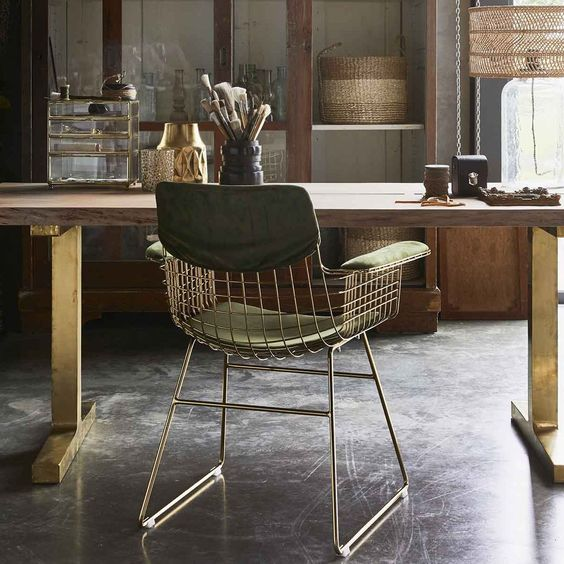 Chaise Wire HKLiving