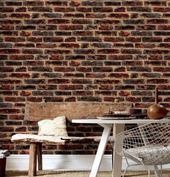 Mur industriel brique
