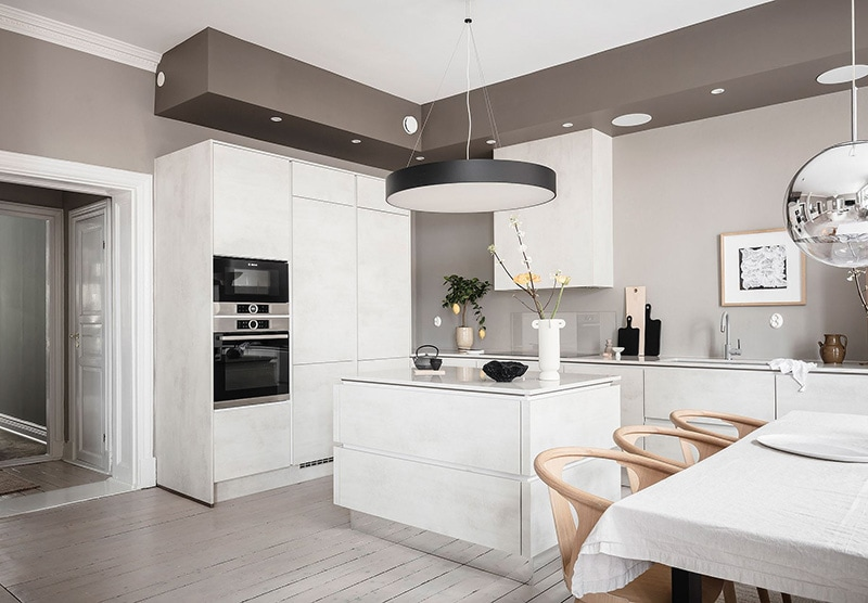 Appartement à goteborg cuisine salle à manger 2