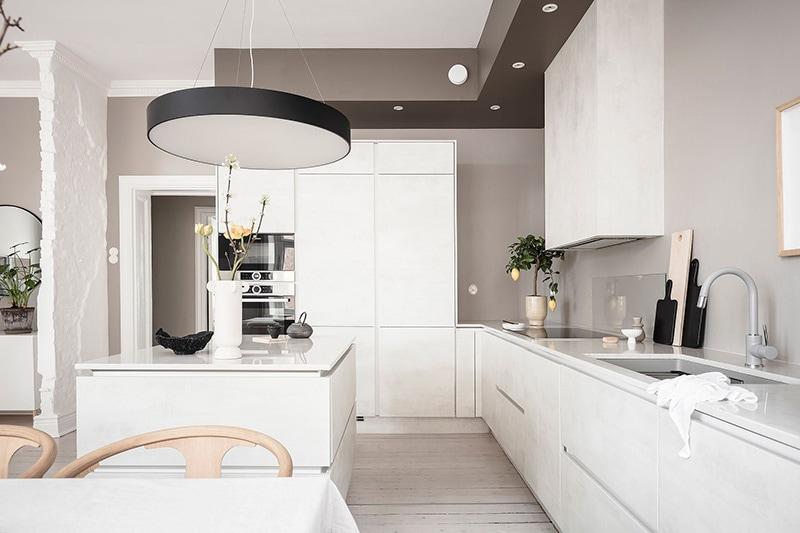 Appartement à goteborg cuisine salle à manger 3