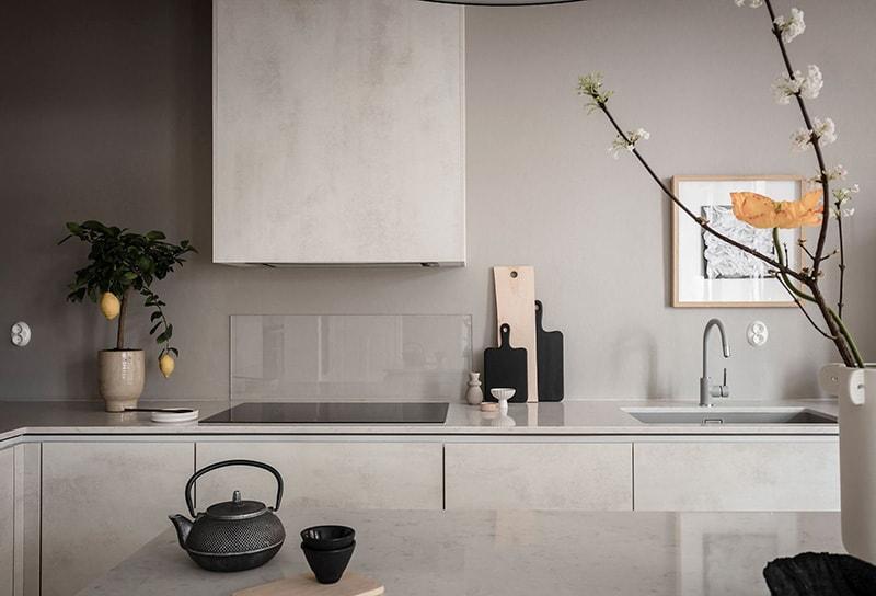 Appartement à goteborg cuisine salle à manger 4