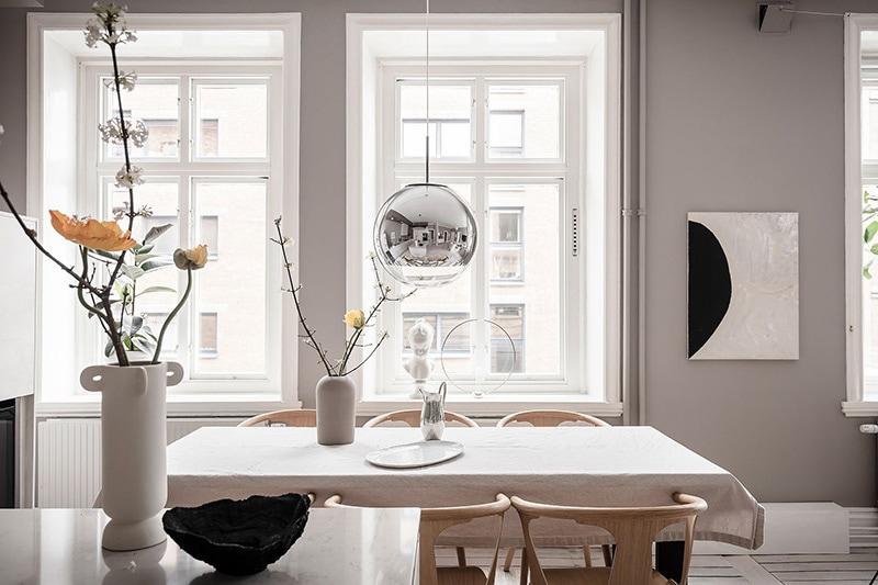 Appartement à goteborg cuisine salle à manger 7