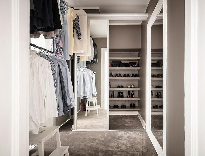 Appartement à goteborg dressing