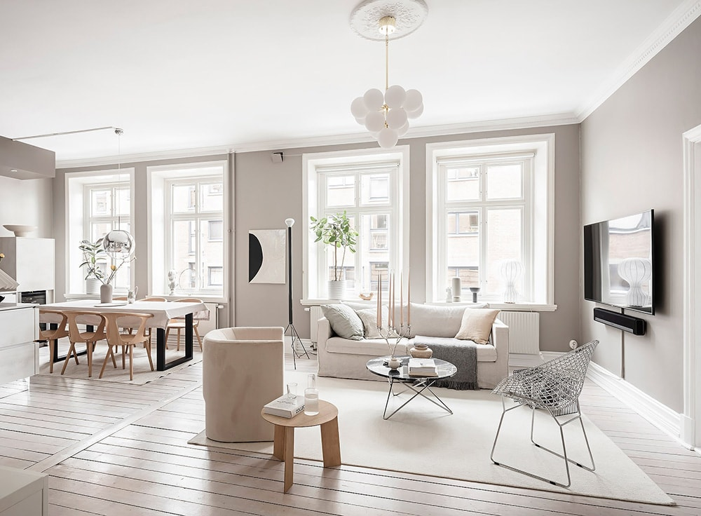 Home Tour – Un appartement à Göteborg