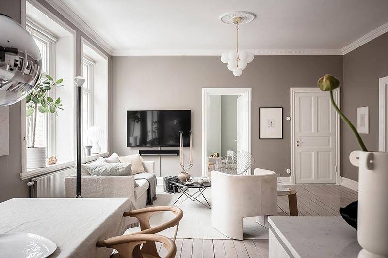 Appartement à goteborg séjour 3