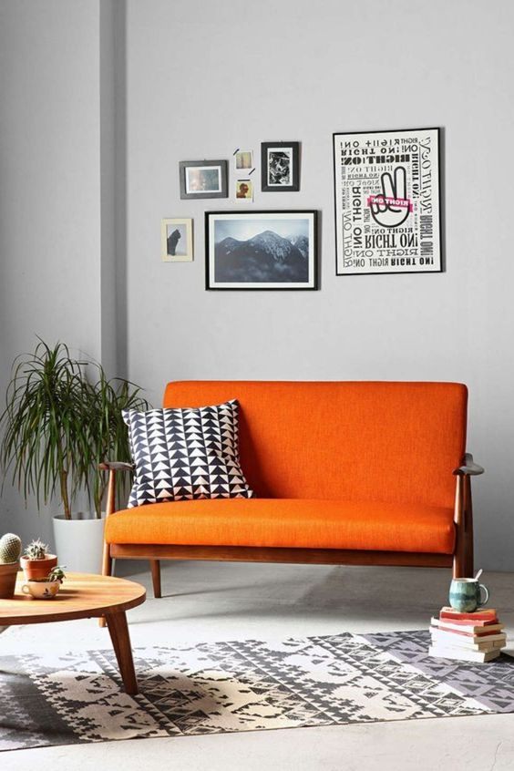 Meuble orange